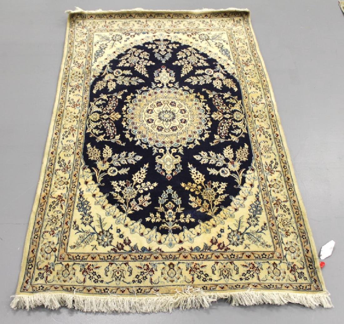 NAIN RUG WITH SILK IRAN