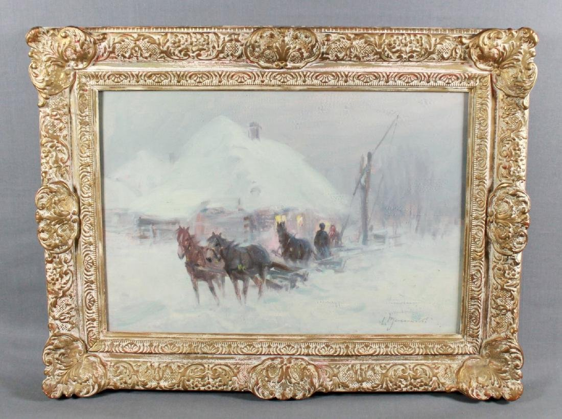 POLISH PAINTING SIGNED W. JARANOWSKI