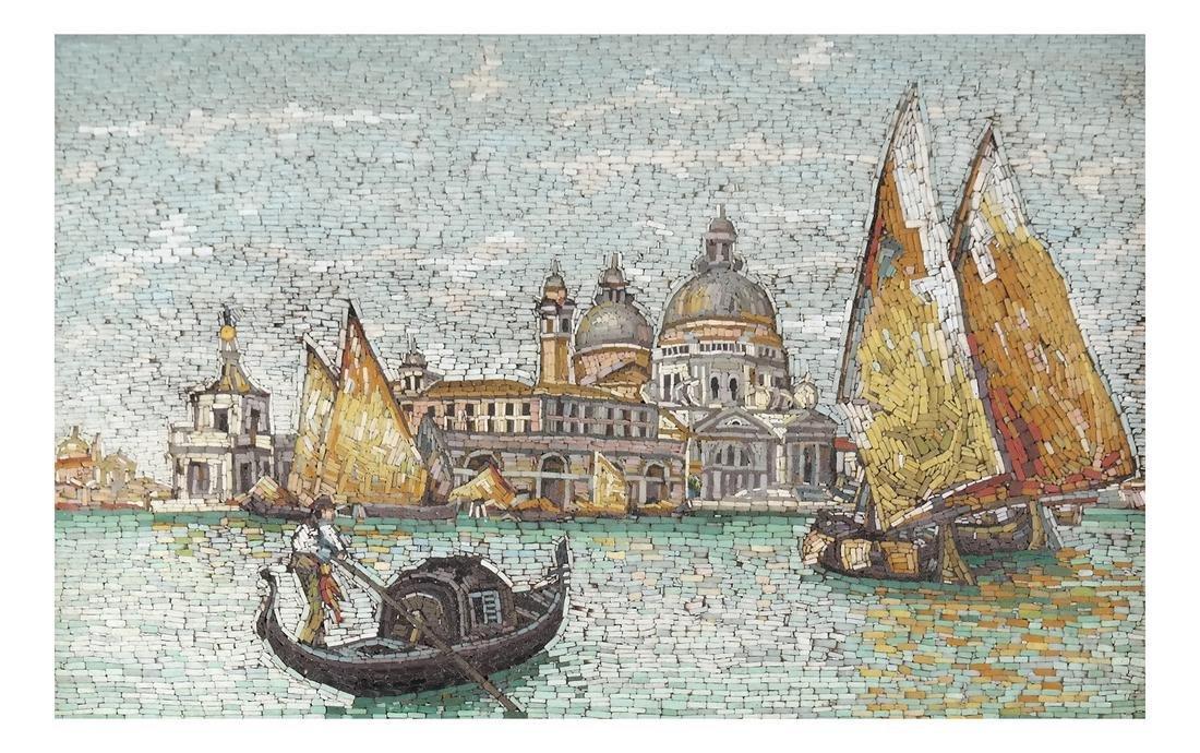 Micromosaic Plaque, Venice