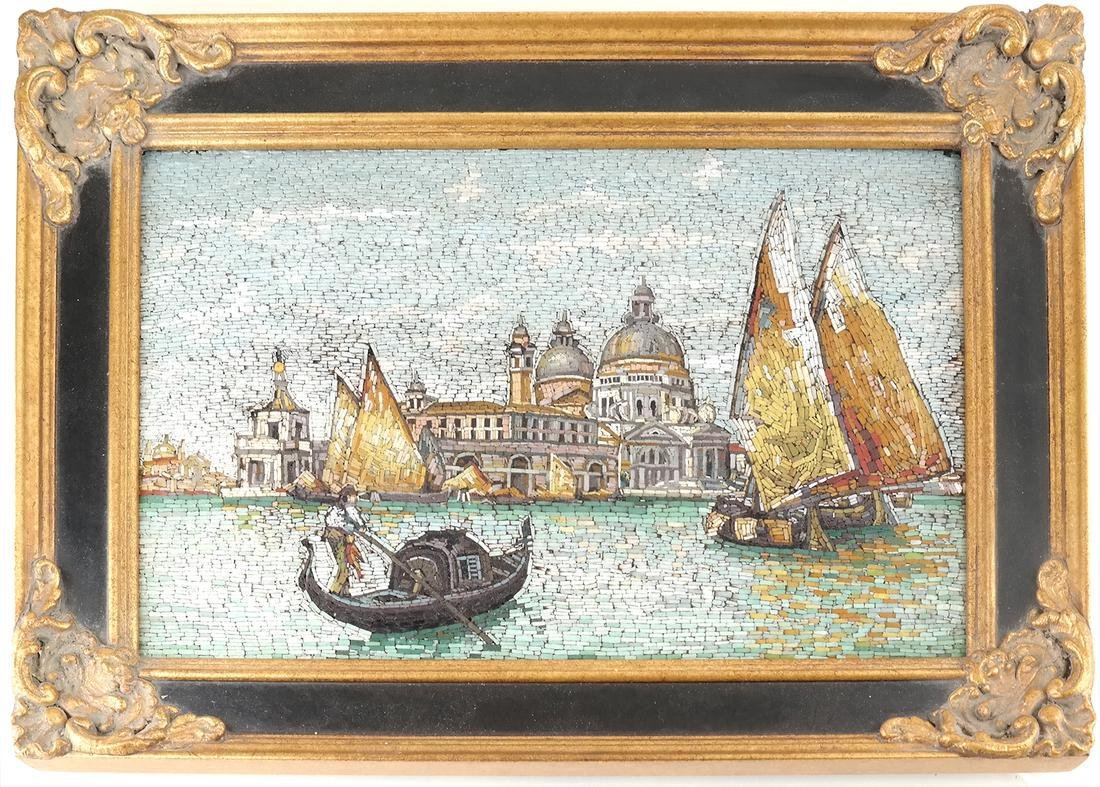 Micromosaic Plaque, Venice - 2