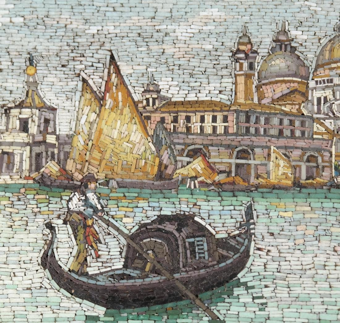 Micromosaic Plaque, Venice - 3