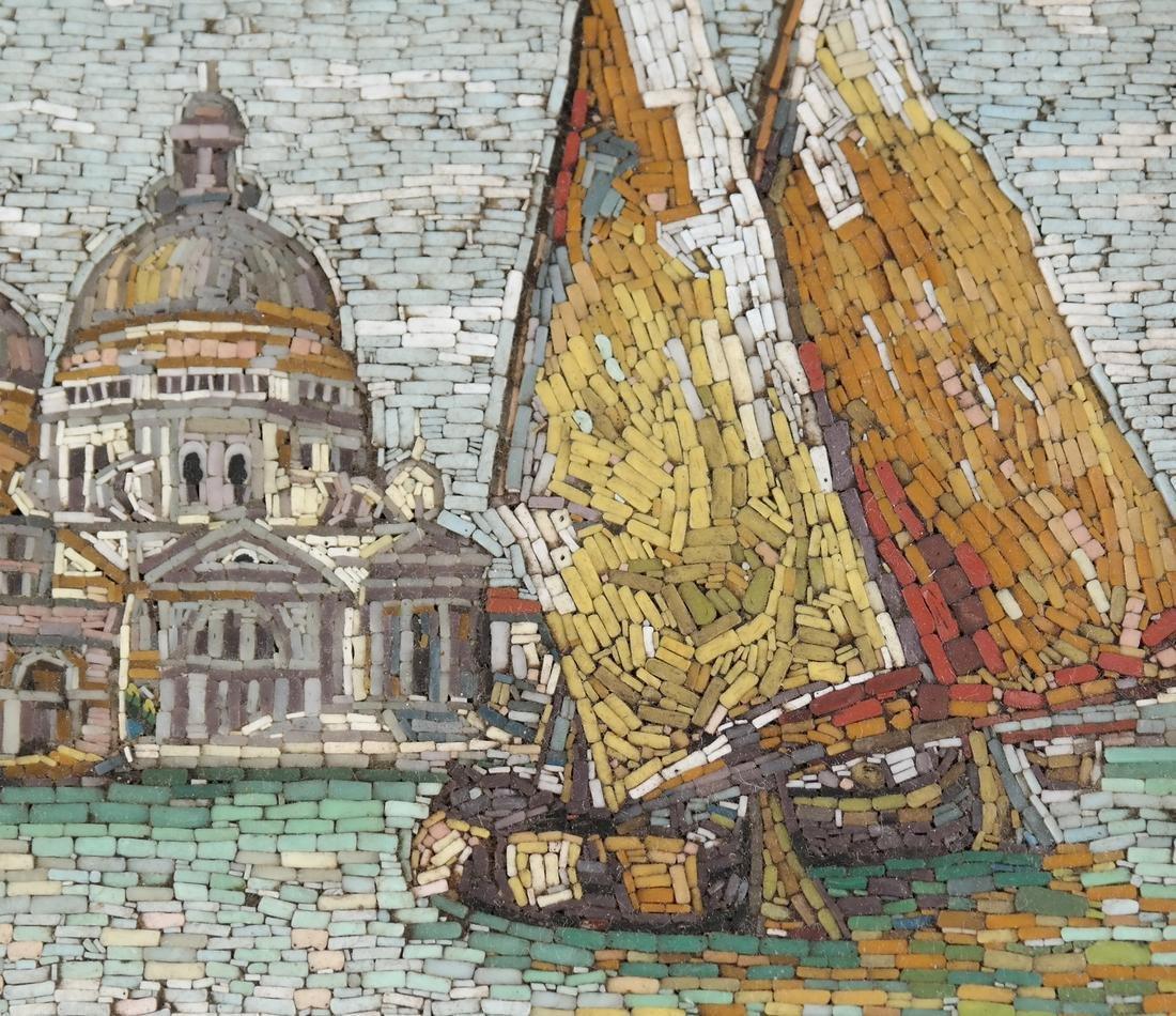 Micromosaic Plaque, Venice - 4