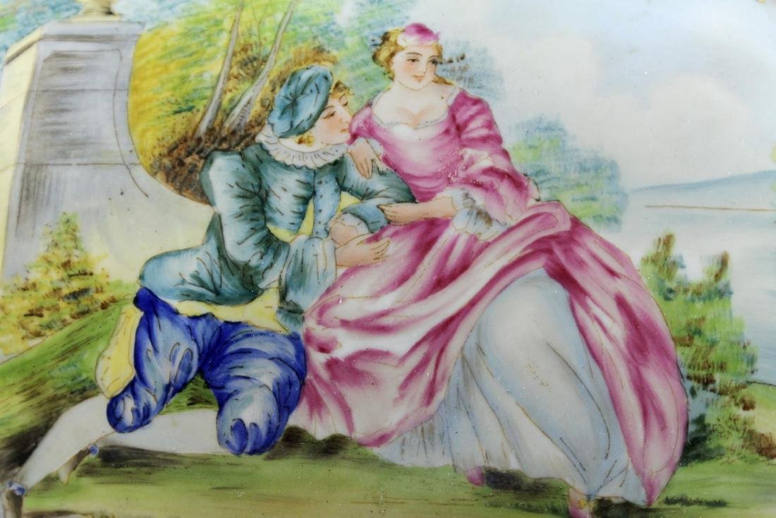 LARGE SEVRES STYLE BOX - 4