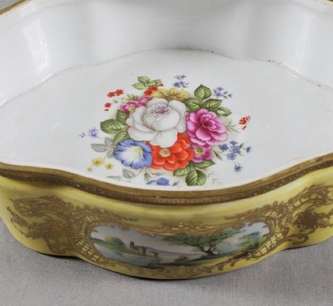 LARGE SEVRES STYLE BOX - 8
