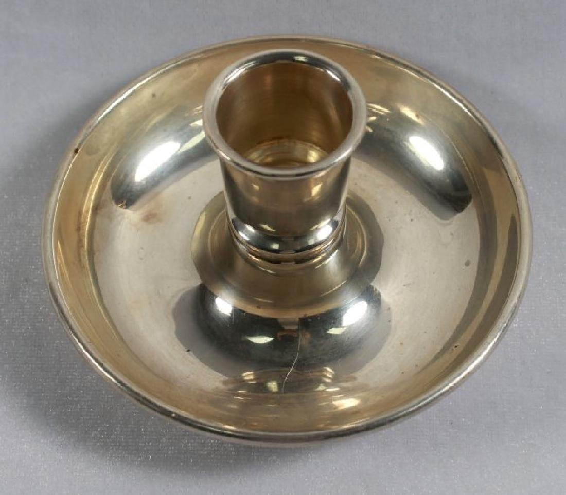 STERLING SILVER CANDLE HOLDER - 2