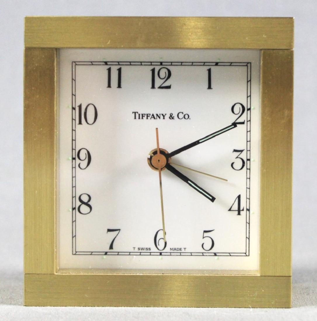 TIFFANY AND CO DESK CLOCK