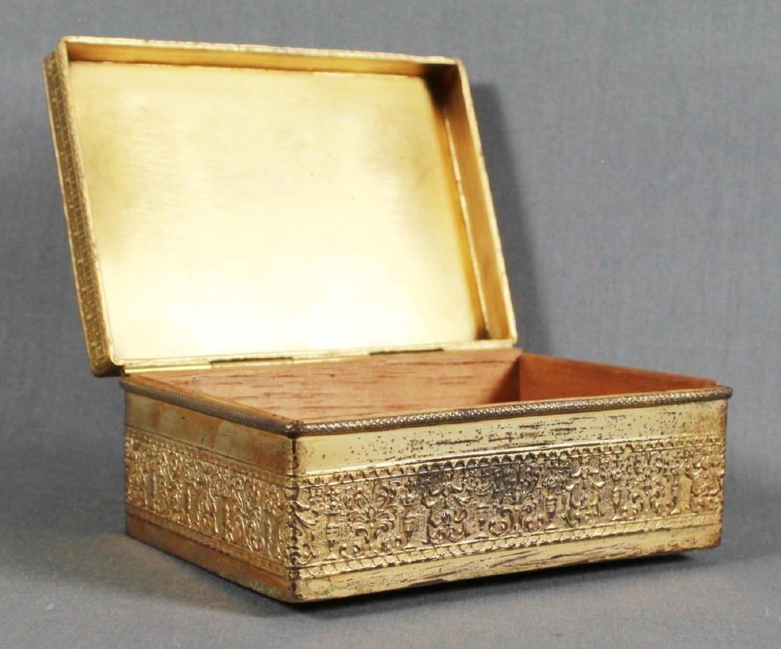 FRENCH ORMOLU BOX WITH ENAMEL - 2