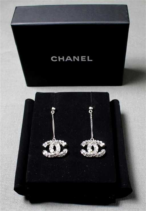 Authentic Chanel Earrings See Sold Price