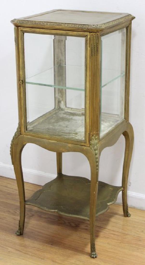 Louis XV Style Gilt Painted Curio