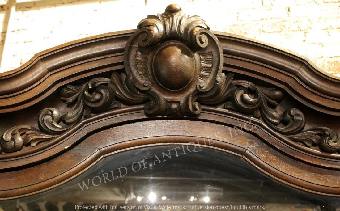 MAGNIFICENT 19TH C. FRENCH RENAISSANCE CARVED WOOD - 6