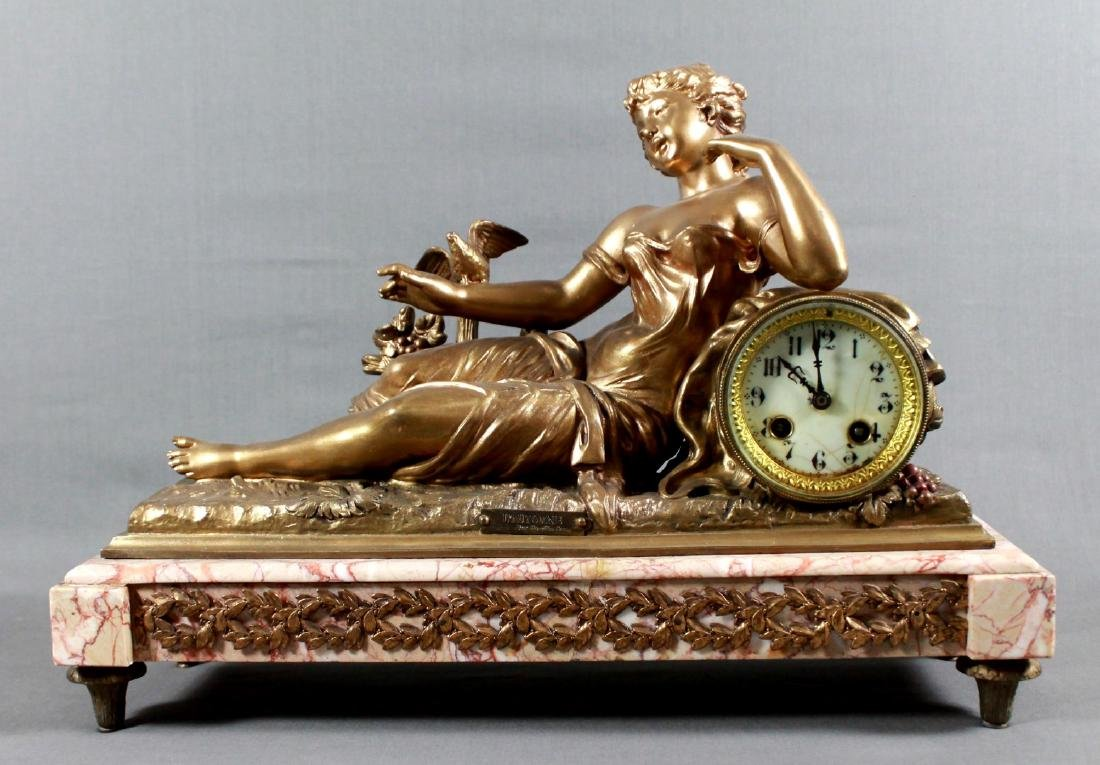 FRENCH LOUIS XVI MANTLE CLOCK