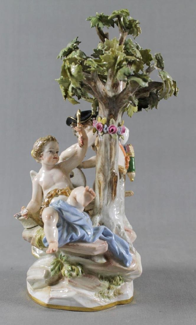 MEISSEN GROUP OF CHERUBS