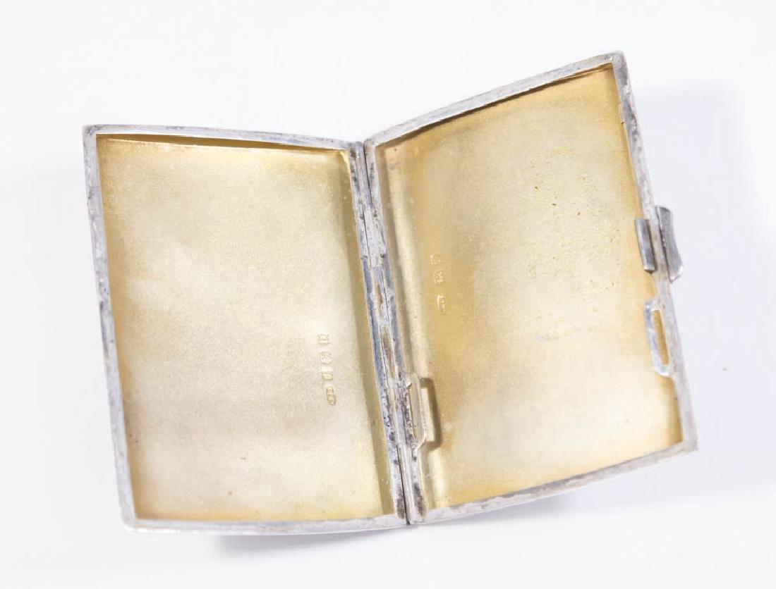Vintage Silver Cigarette Case - 3