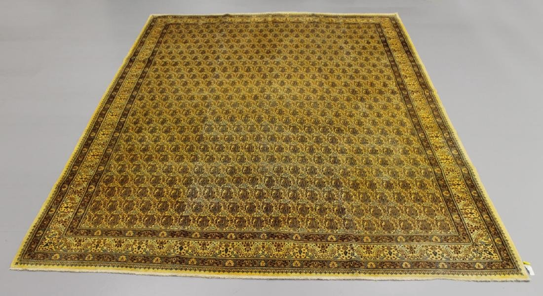 ANTIQUE KASHAN RUG IRAN