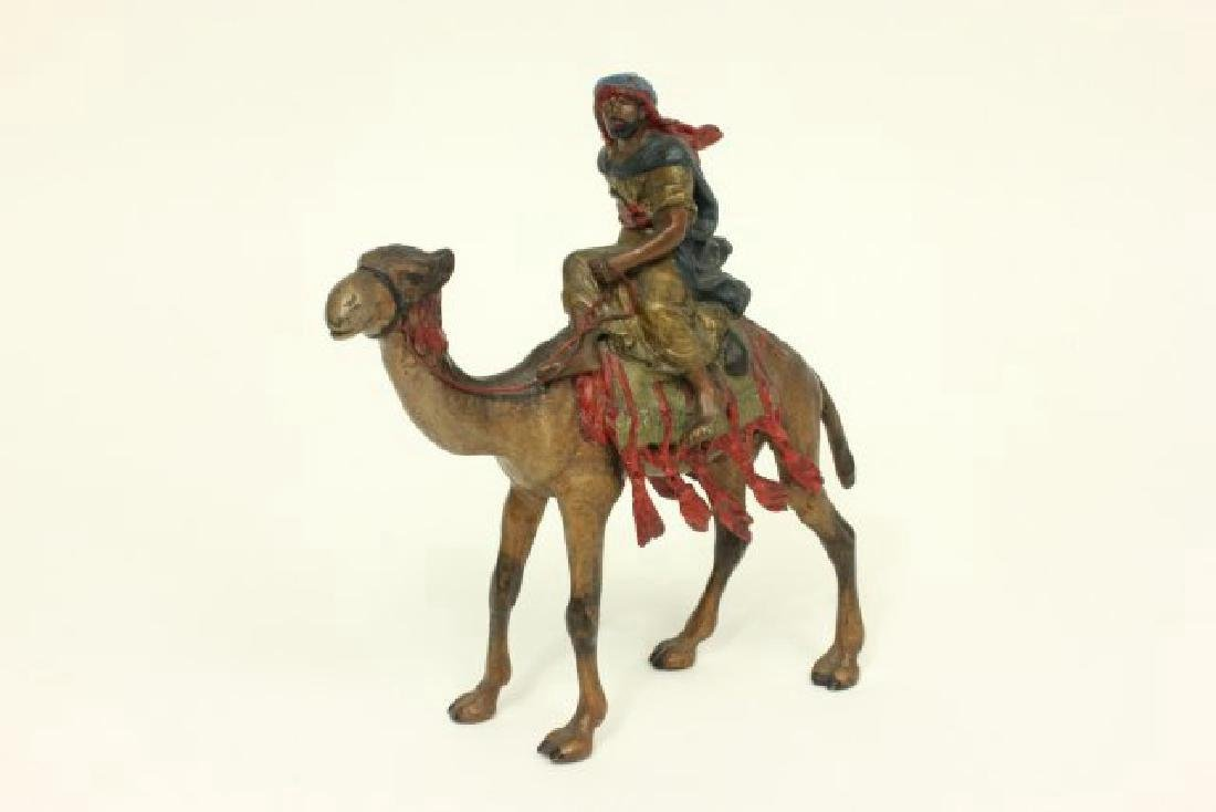 Bergman Vienna Bronze Warrior on Camel