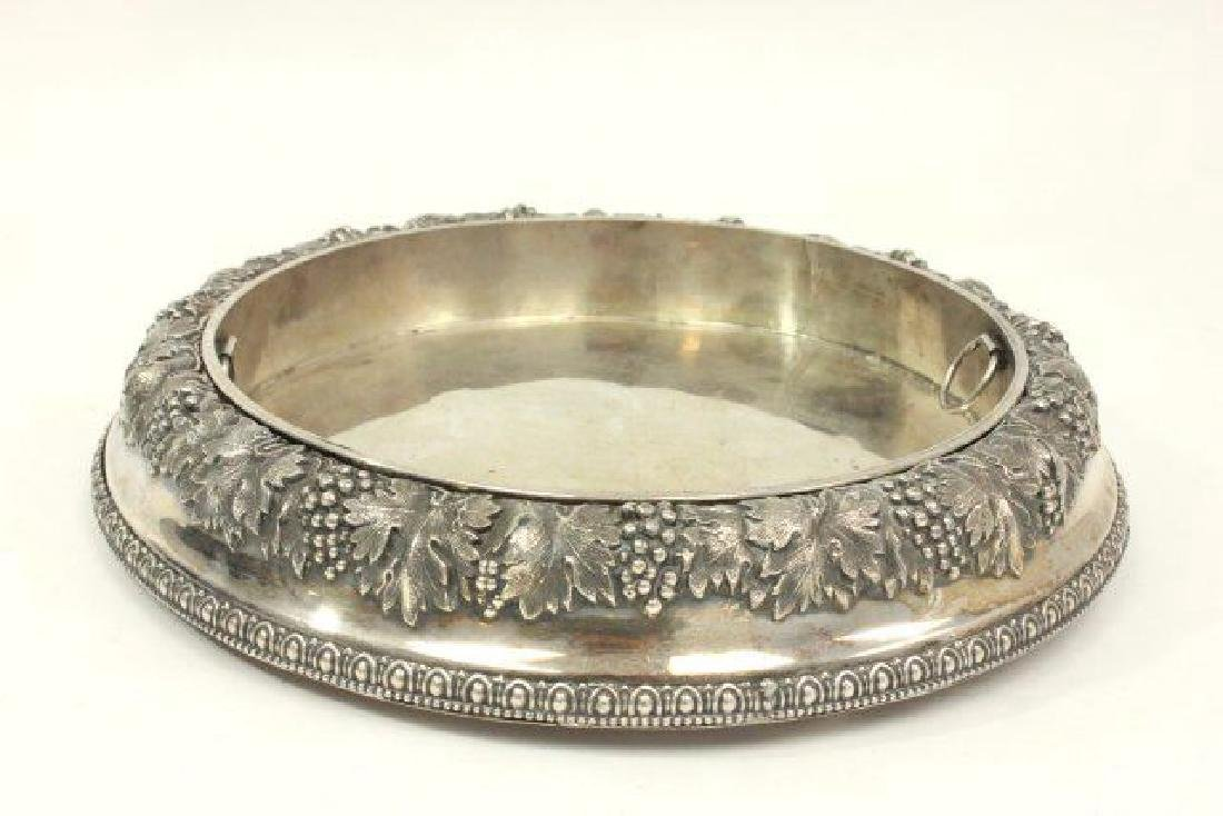 Early Sheffield Silverplate Fruit Dish