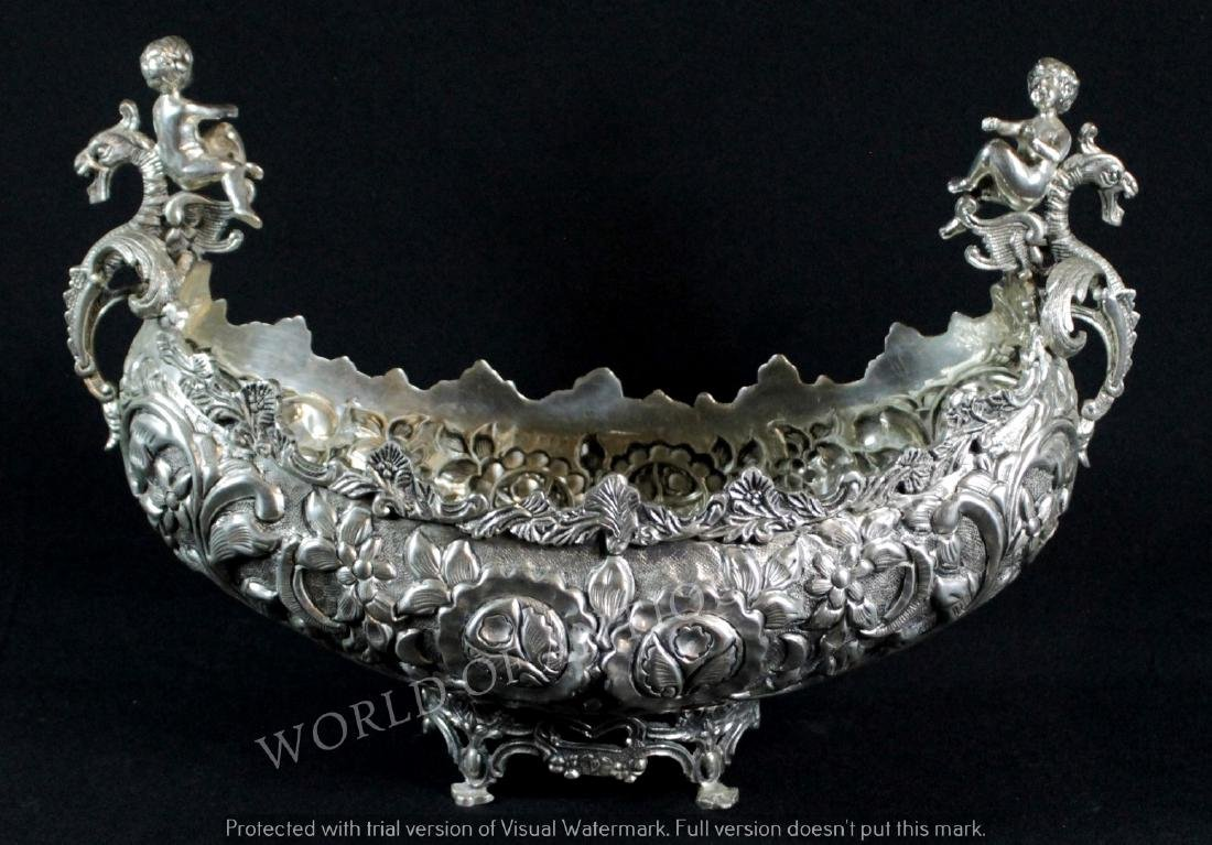 EARLY 19TH C. SILVERPLATED CENTERPIECE