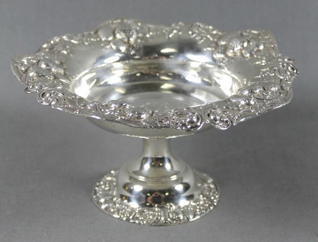STERLING SILVER STRAWBERRY DISH