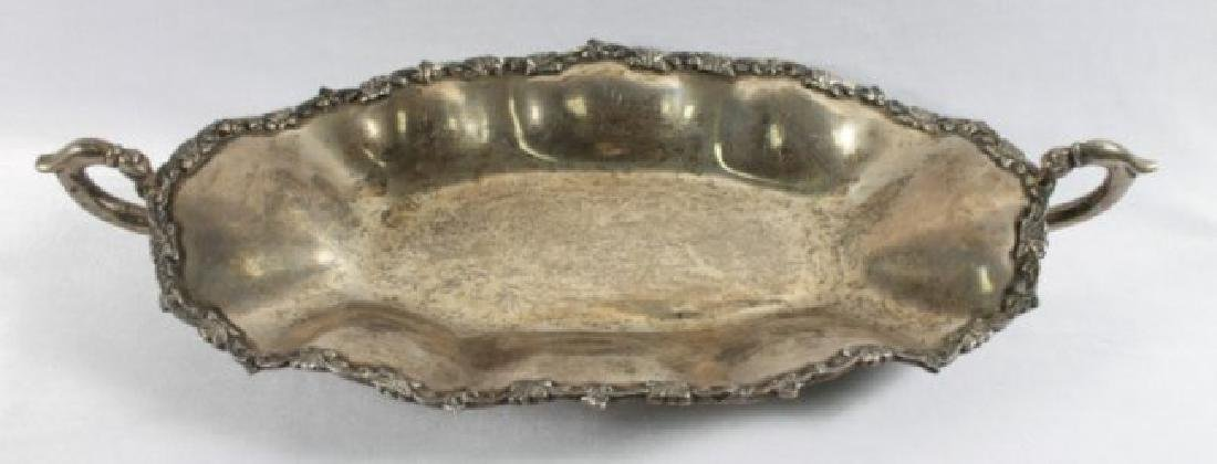 STERLING SILVER TRAY WITH HANDLES