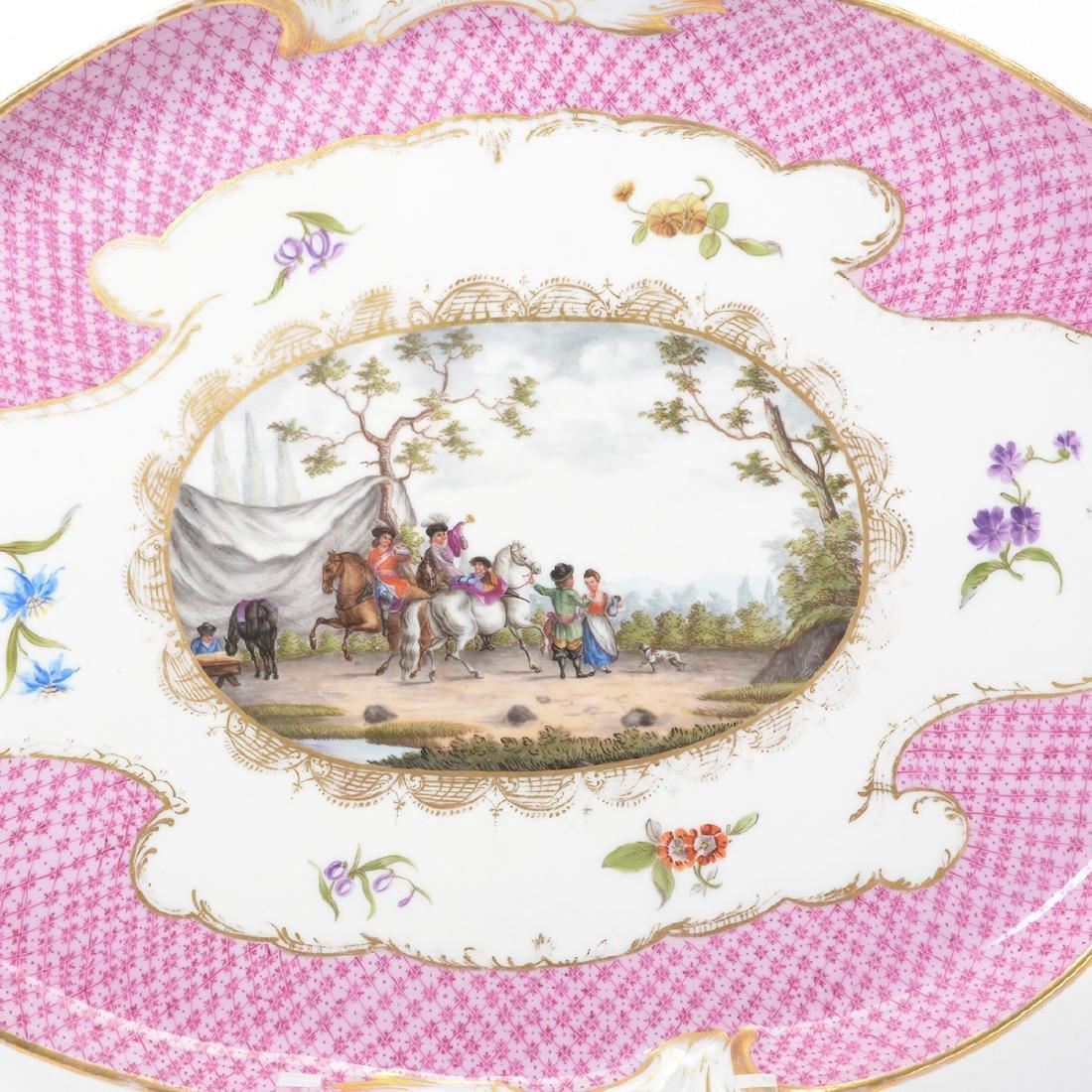 Meissen Six Piece Porcelain Tea Service including Tray - 6