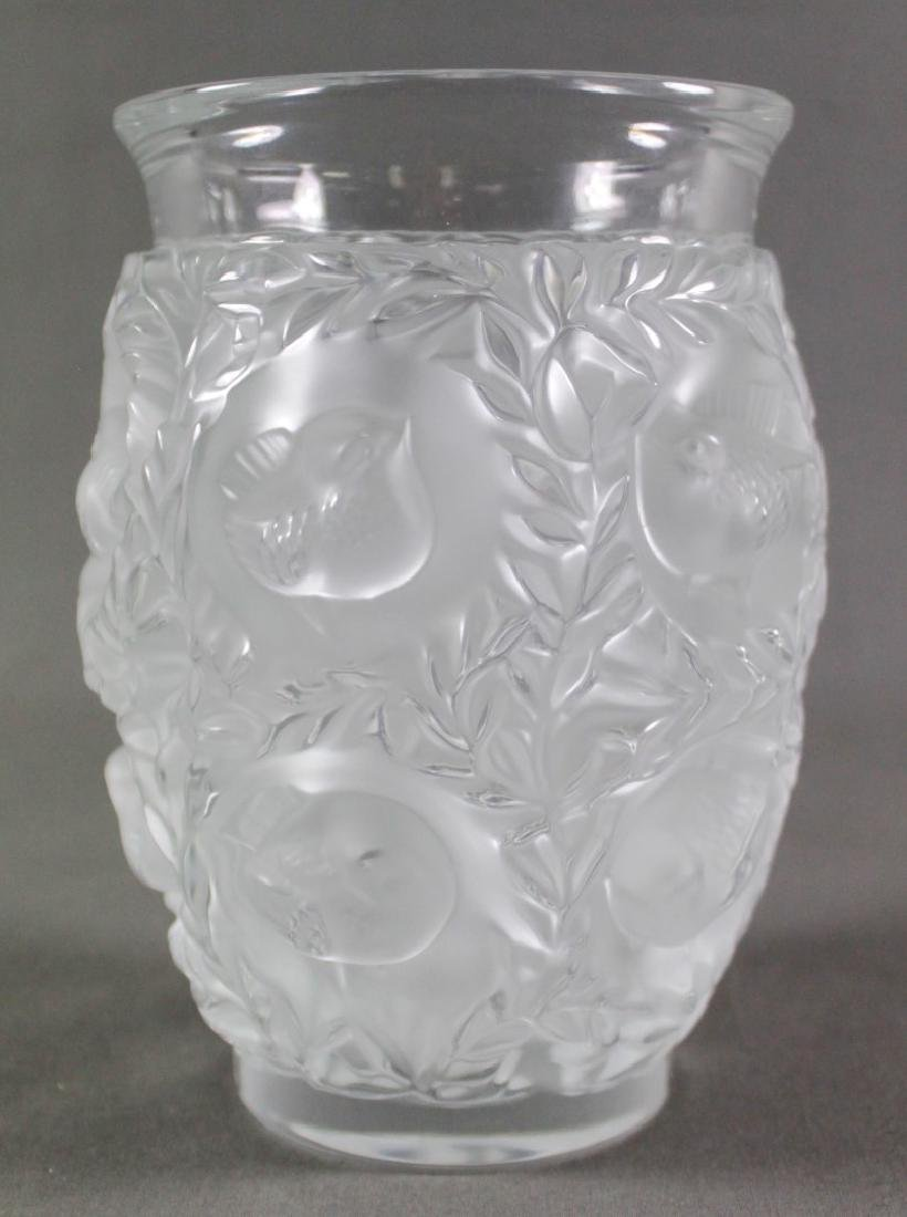 LALIQUE BAGATELLE VASE IN BOX