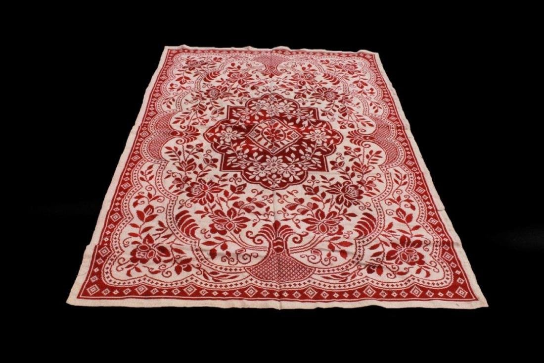 19TH C. MACHINE MADE RUG
