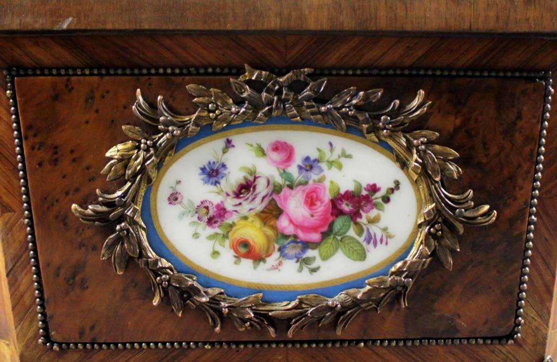 FRENCH SEVRES PORCELAIN INSET JARDENIERE - 3
