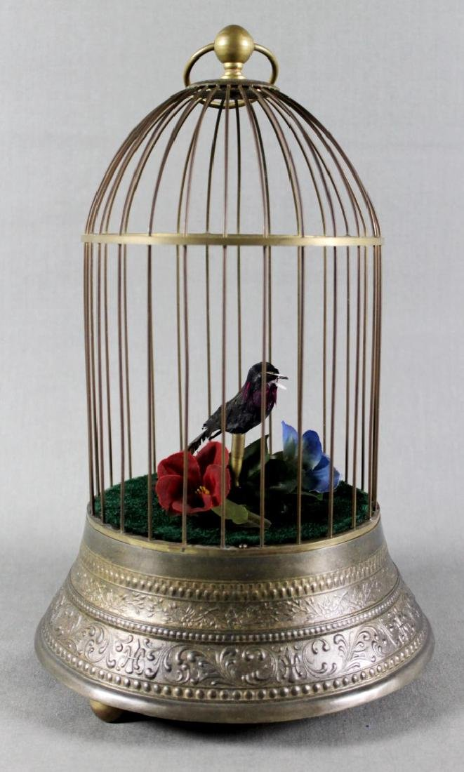 AUSTRIAN BIRD CAGE MUSIC BOX