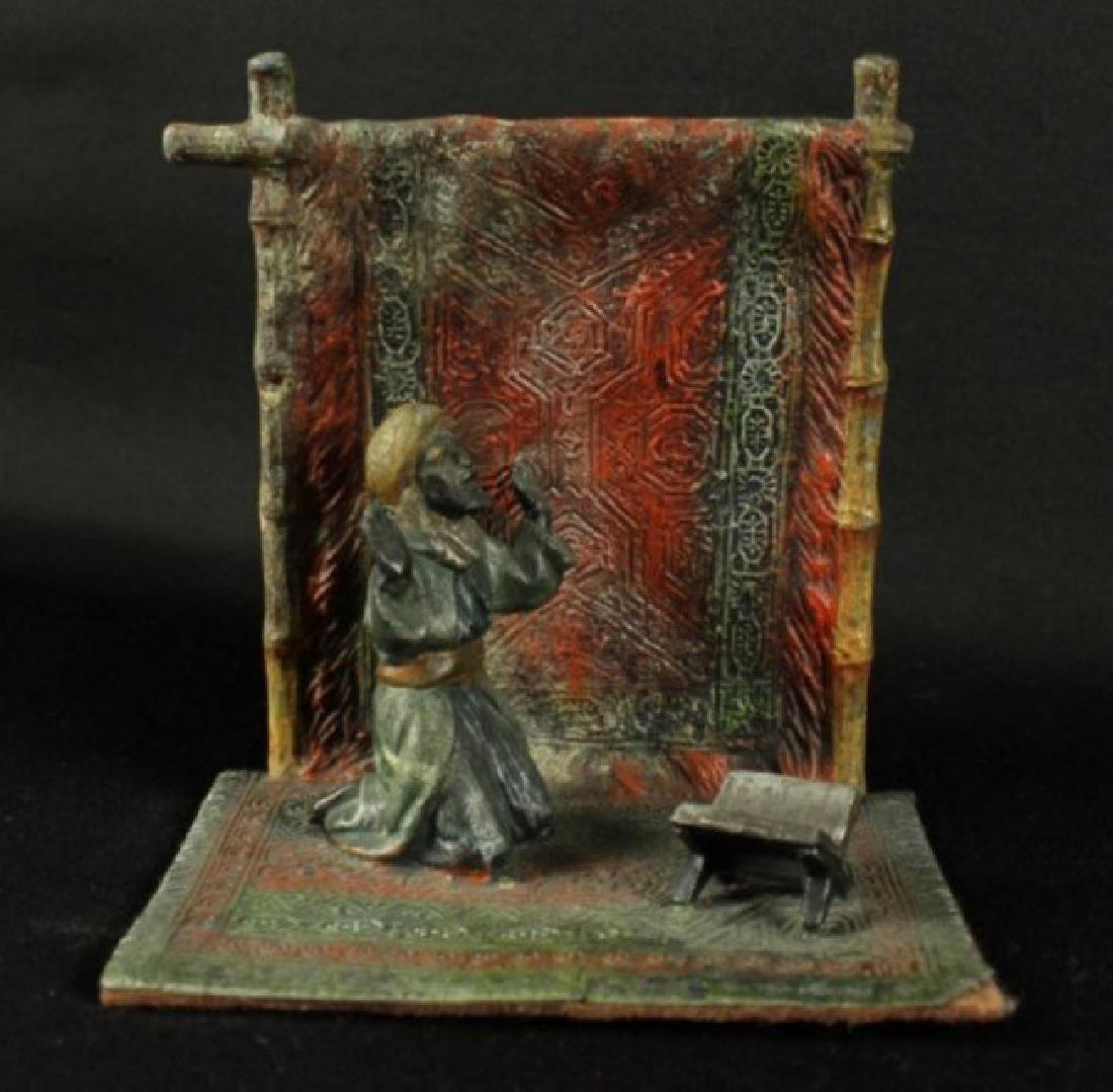 Pair Of Cold Painted Enamel Figures - 2