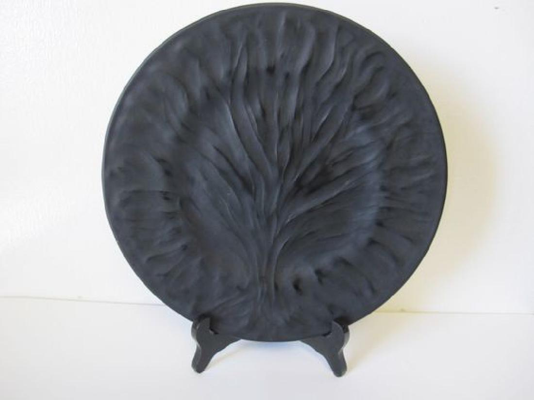 """Lalique """"Algues"""" Plate 11.25"""" Diameter"""