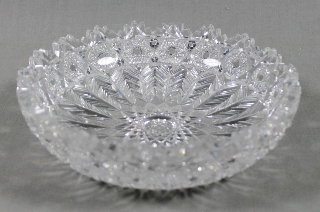 BRILLIANT CUT BACCARAT STYLE CUT CANDY DISH
