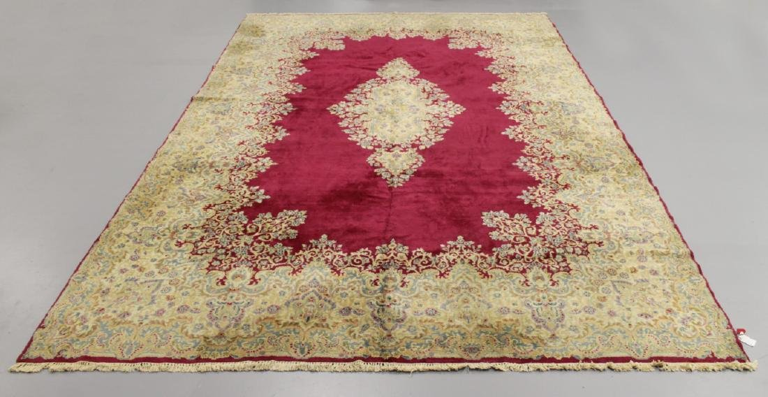 ANTIQUE KERMAN RUG IRAN