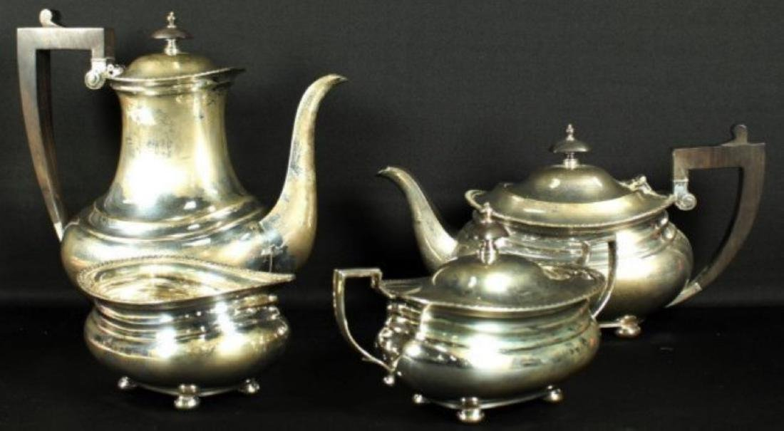 GORHAM STERLING 4 PC. HOT BEVERAGE SERVICE