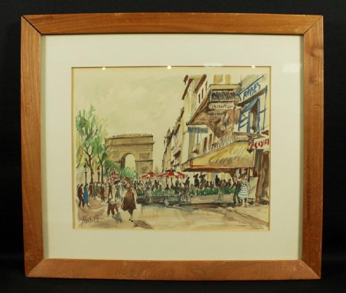 PAINTING SIGNED HERBELOT