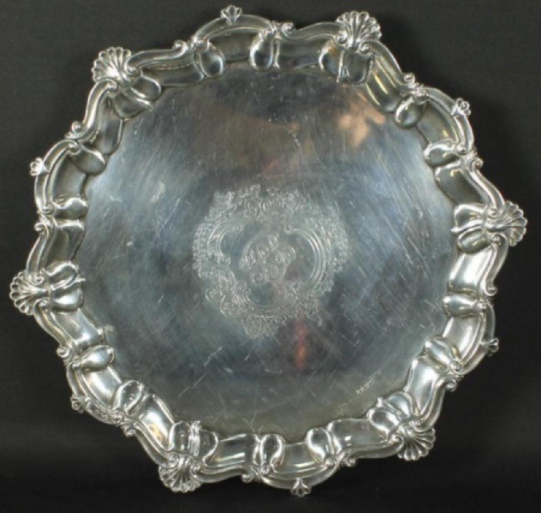 Alexander Clark Sterling Silver Tray