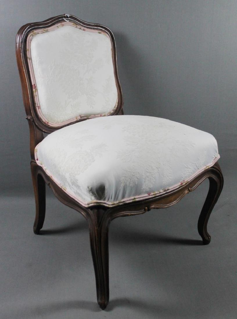 LOW PROVINCIAL UPH SIDE CHAIR