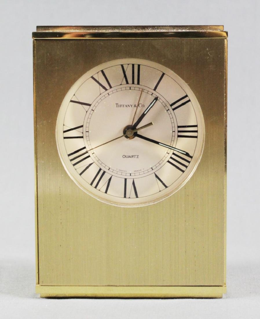 TIFFANY AND CO DESK CLOCK
