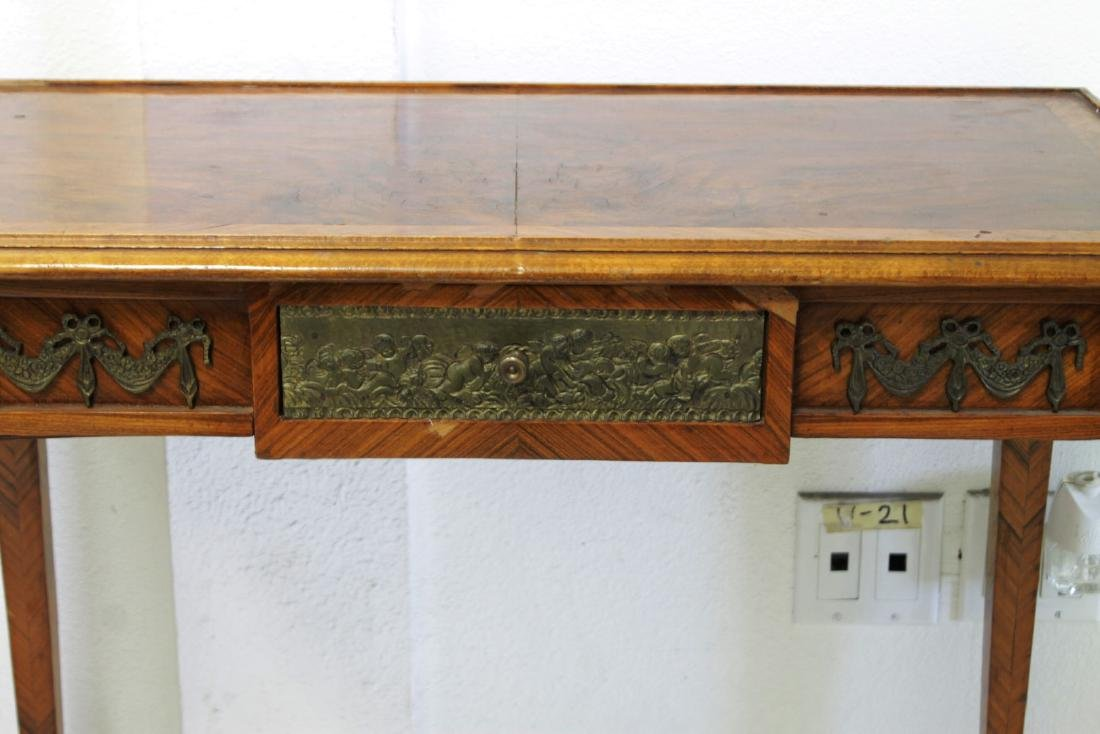 19TH C. FRENCH LOUIS XV STYLE WRITING TABLE - 2