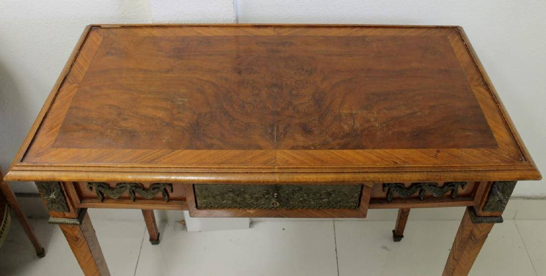 19TH C. FRENCH LOUIS XV STYLE WRITING TABLE - 5
