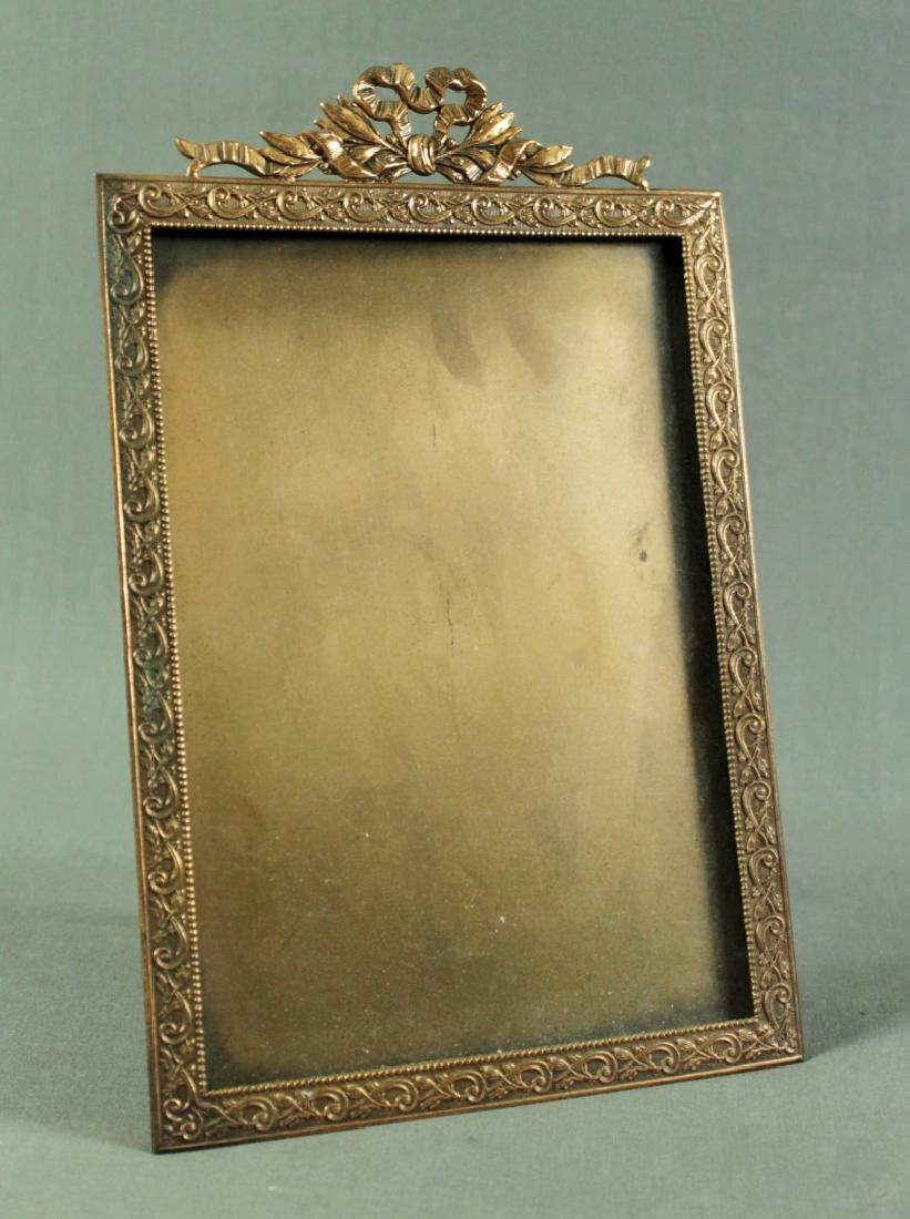 COPPER PLATED PICTURE FRAME