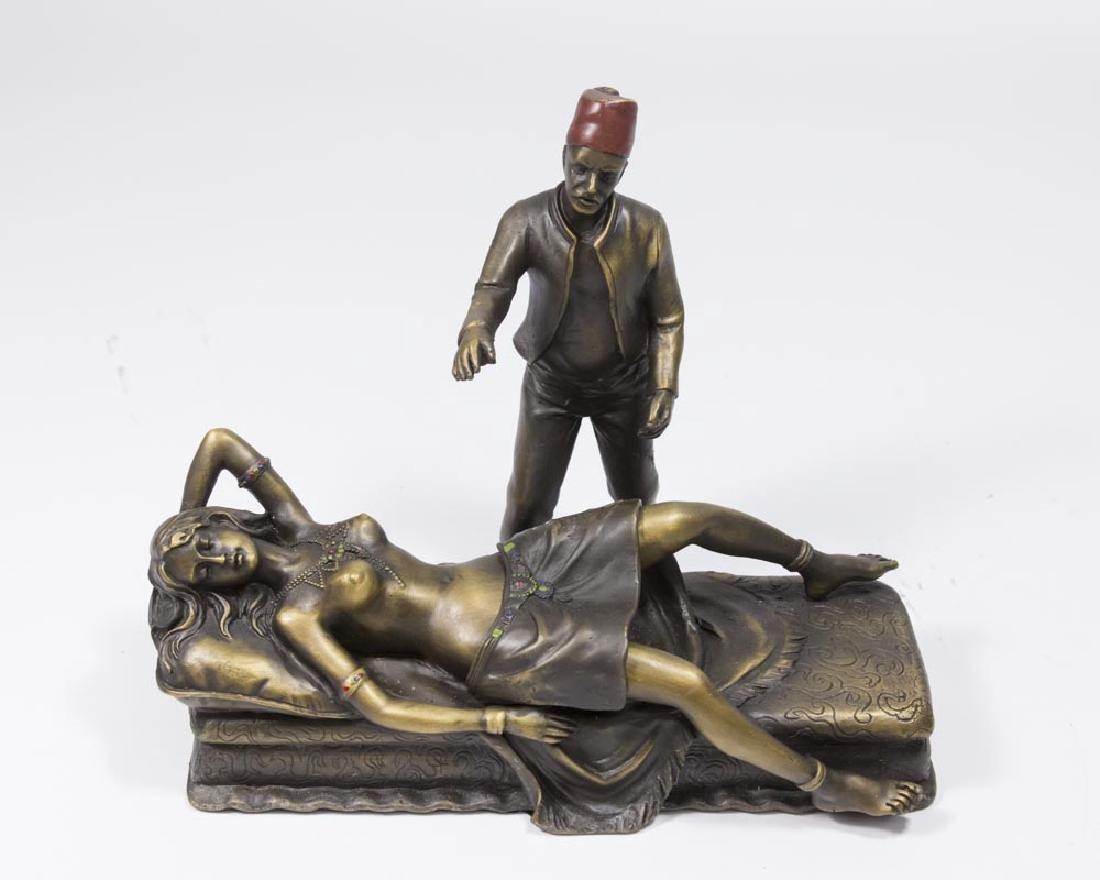 "Contemporary Bergman Bronze, ""Naughty Nellie"""