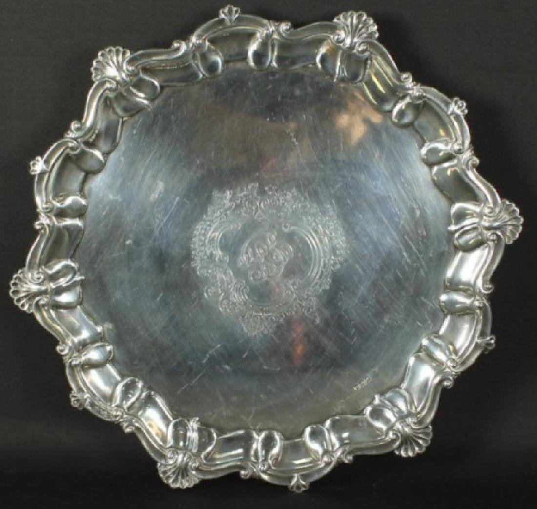 Alexander Clark Sterling Silver Tray