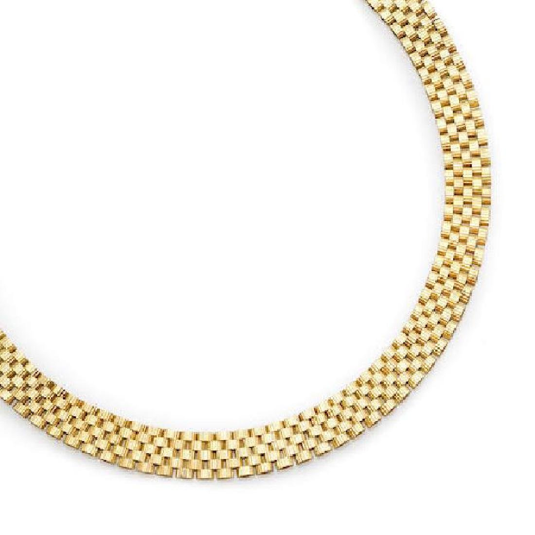 AN 18K GOLD NECKLACE, Tiffany & Co.