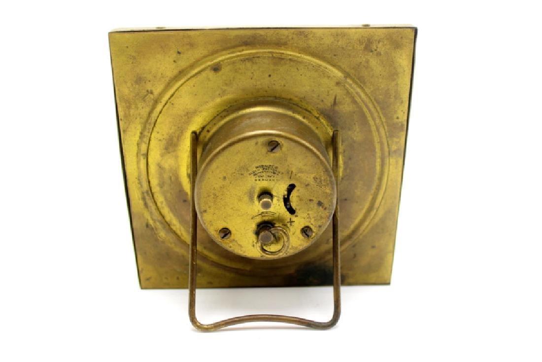 Kienzle Clock Factory Bronze and Porcelain Desk Clock - 3