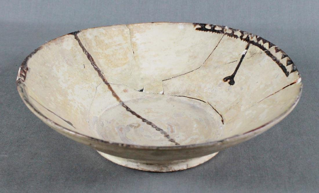 A SAMMAND POTTERY BOWL