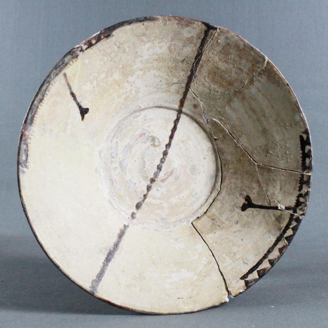 A SAMMAND POTTERY BOWL - 2