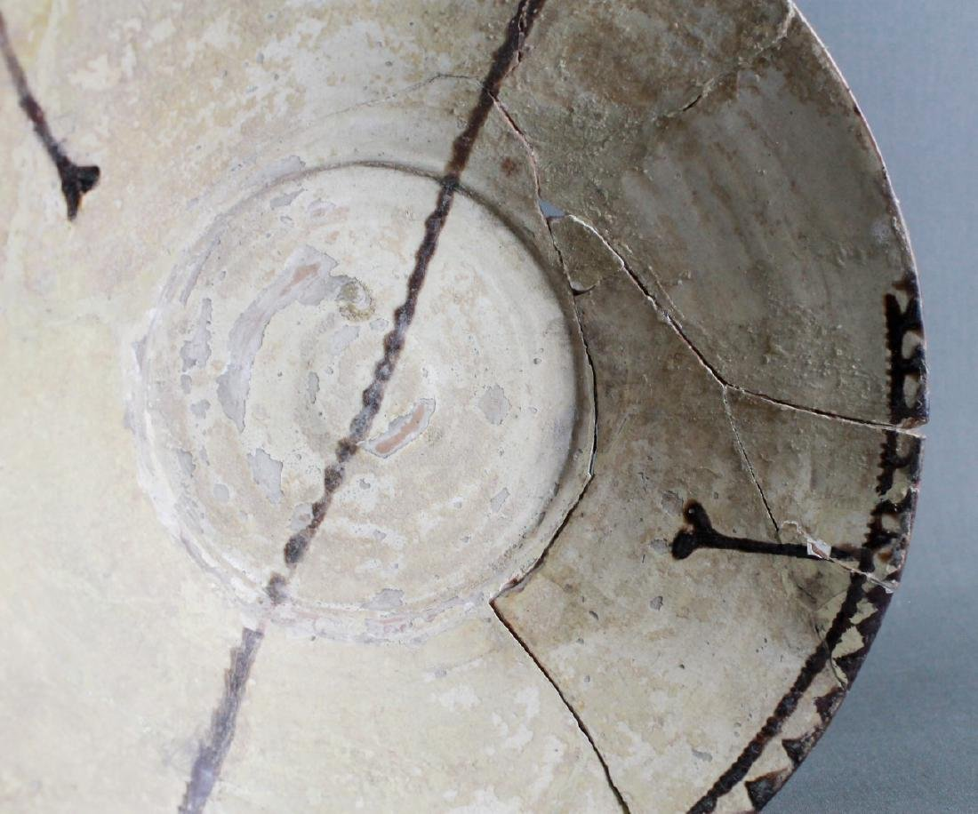 A SAMMAND POTTERY BOWL - 3