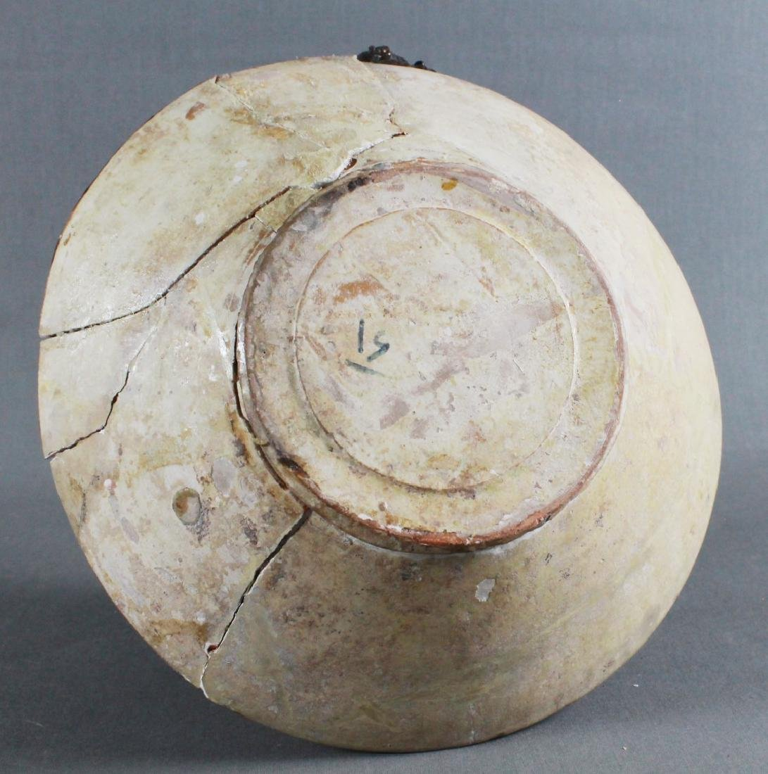 A SAMMAND POTTERY BOWL - 4