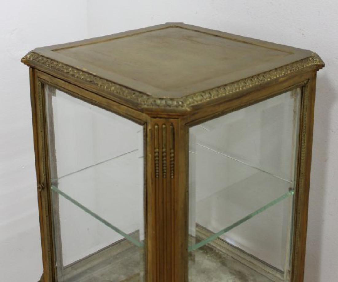 Gilt Painted Louis XV Style Curio - 4