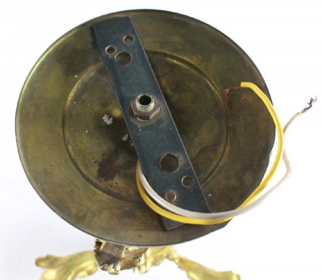 DORE BRONZE 3 ARM CEILING FIXTURE PAN LAMP - 5